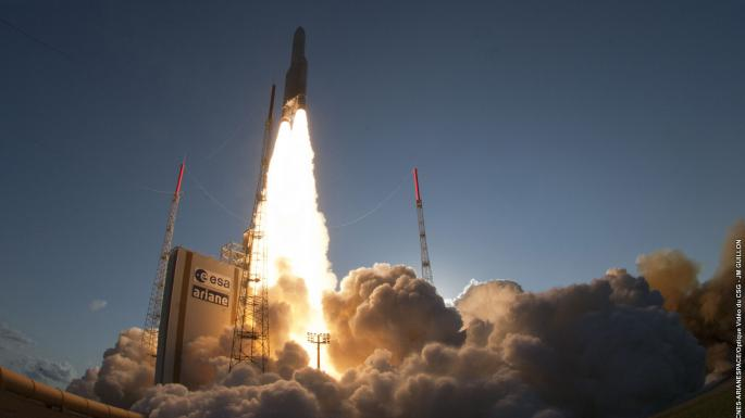 Ariane 5 liftoff (27/05/15)